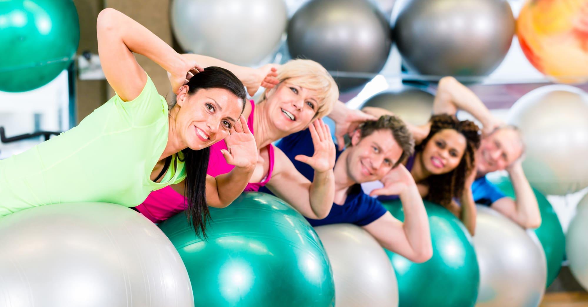 Fitness Kurs Gruppe