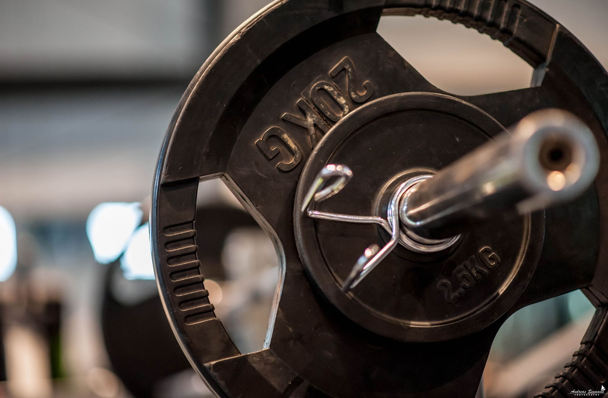 Trainingsfläche Gewichtsscheiben