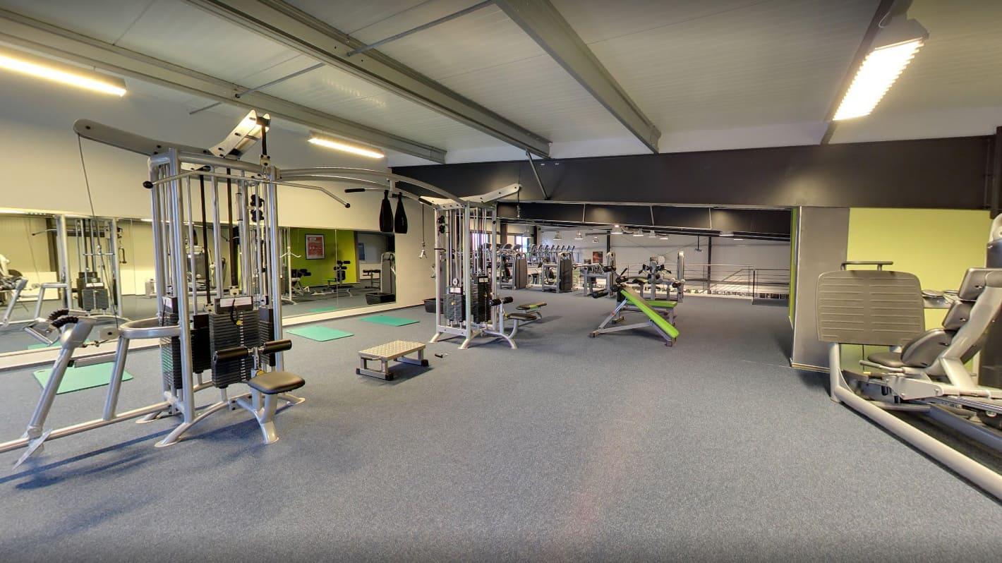 Trainingsfläche-Obergeschoss